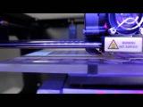 Пример работы 3d-принтера по технологии FDM