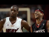 Dwyane Wade vs Allen Iverson NASTY Duel 2005.04.14 - A.I With 38 Pts, 16 Ast, Wade With 48 Pts!