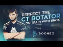 Perfect the CT Rotator on Train with shox