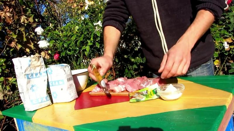 Рецепт копчение мяса, свинина в коптильне горячего копчения » Freewka.com - Смотреть онлайн в хорощем качестве