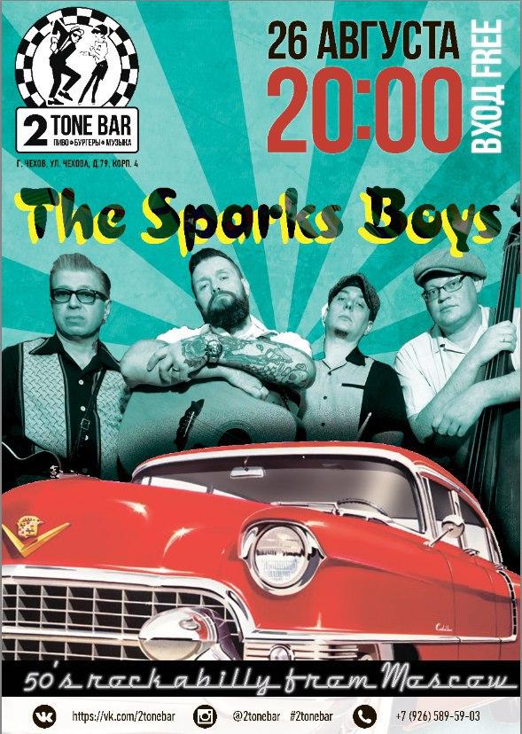 26.08 The Sparks Boys в 2Tone Bar