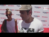 Zac Efron Exclusive - Baywatch Slow Mo Marathon - YouTube