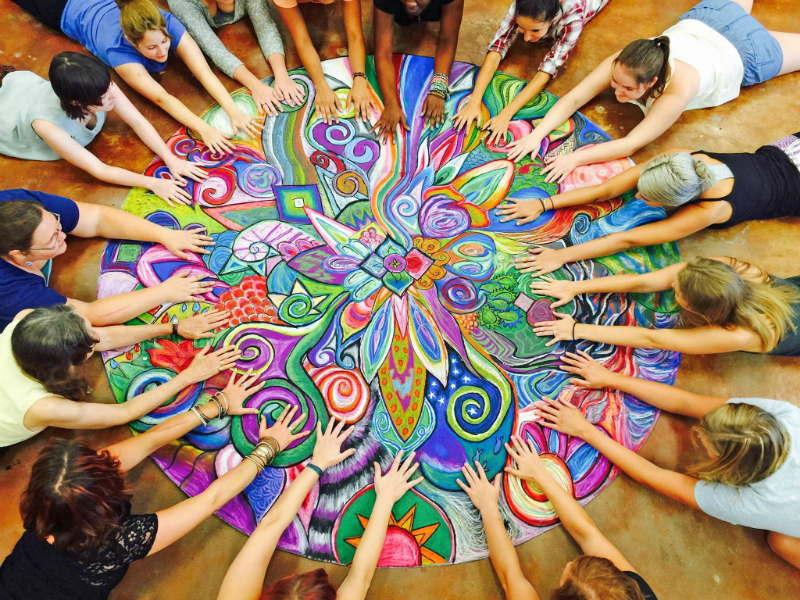 Арттерапия и подходе МАРИ @ Онлайн