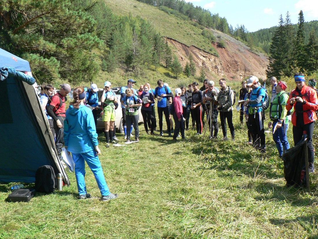Участники перед стартом суточного рогейна