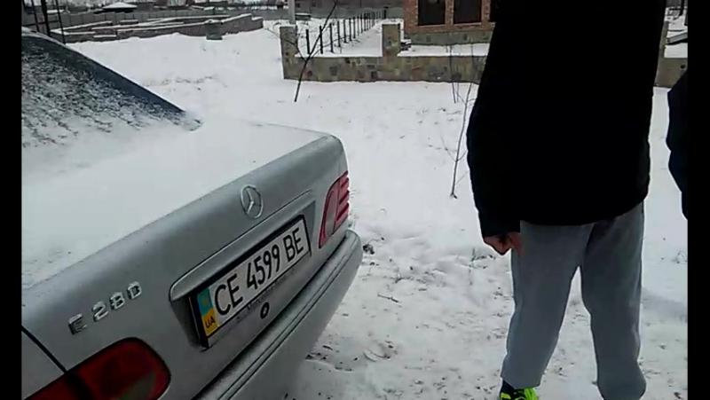 Тарас Ужитчак Mersedes E280 Elegans😄