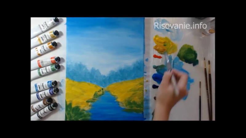 Мастер-класс по рисованию от Натальи Йорк