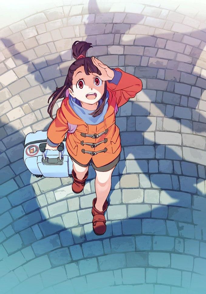 Аниме Академия ведьмочек / Little Witch Academia TV [9 из 25] / AniDUB