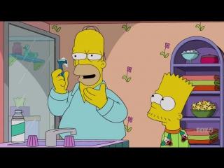 Симпсоны. Бритый гомер!
