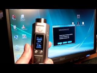 Wismec Reuleaux RX200S firmware v4 13