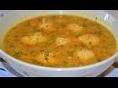 Гороховый суп с куриными фрикадельками.Быстрый и вкусный рецепт.