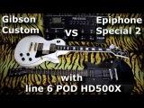 Gibson Custom VS Epiphone Special II - Guitar Battle #7