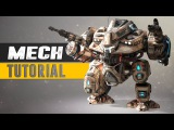 Mech Tutorial Trailer - 3Ds Max &amp Substance Painter - Get Industry ready
