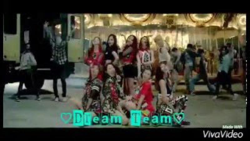 بنات يغنون كوري-(Dream Team(드림 팀)- Like Ooh Ahh(하게