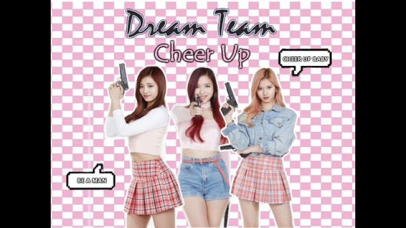 [COVER] Twice(트와이스)- Cheer Up BY Dream Team(드림 팀) _بنات يغنون كوري