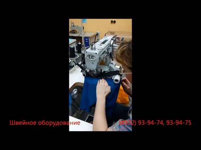 Промышленная плоскошовная швейная машина для боксеров, резинка до 60 мм