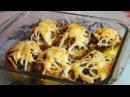 Картофель фаршированный беконом и грибами- это ну очень вкус