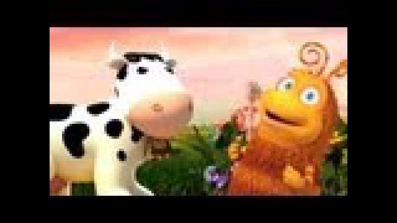 Мультики Загадки про Животных Прыг и Скок Корова