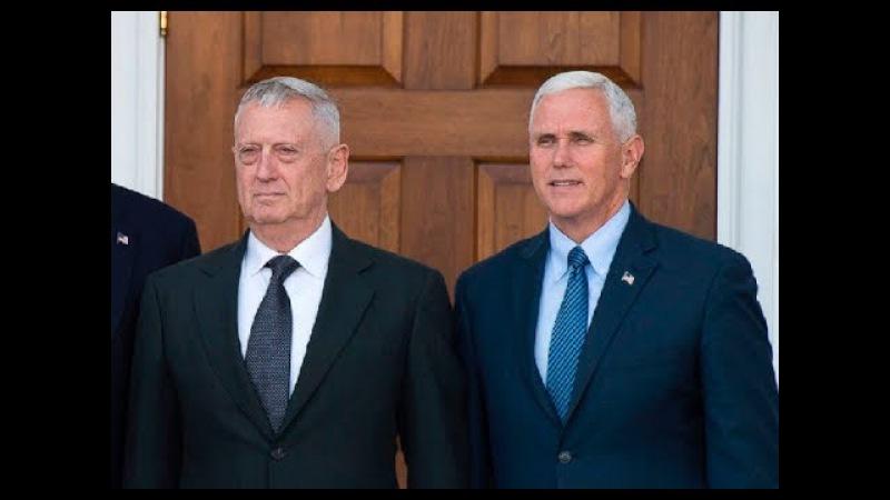 Порошенко встретился с вице-президентом США Пенсом и главой Пентагона Меттисом