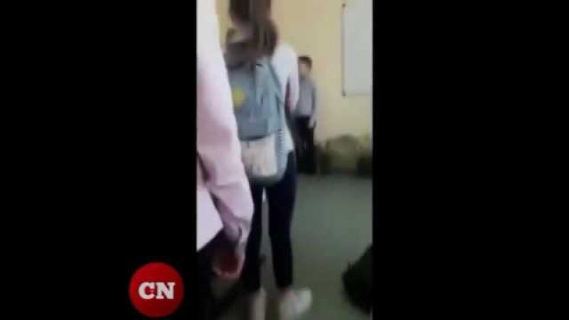 Отец избил школьника за то что обидел его дочь