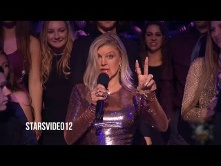 Fergie - Dick Clark's Moments in New Year's Rockin' Eve 2017 [HD]