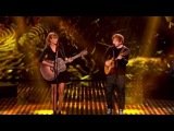 Taylor Swift &amp Ed Sheeran - Everything Has Changed live on BGT (HD)