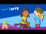 Theme 8. Sorry - Watch out!  Are you okay  ESL Song &amp Story - Learning English for Kids
