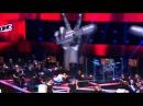 Голос 3 нокауты Александра Воробьева 'Вальс тысячи времен' J Brel coverвыпуск 14 11 2014