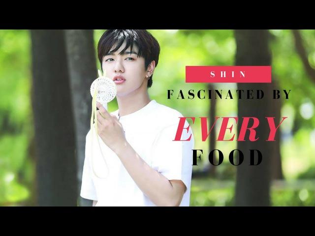 CROSS GENE (크로스진) - SHIN WON HO FASCINATED BY EVERY FOOD