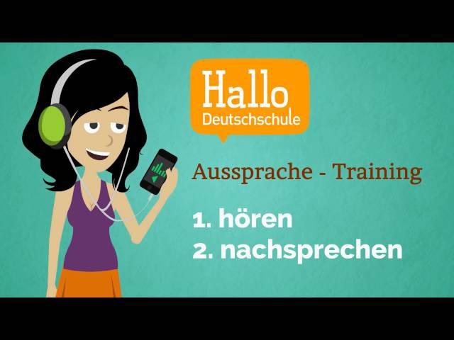 Lektion 15 Aussprache üben Deutsch lernen A1