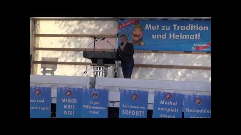 AfD - JETZT LANGT'S! - Garmisch-Partenkirchen 29.10.2016