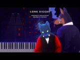 Caravan Palace Lone Digger Ragtime LyricWulf Piano Tutorial on Synthesia