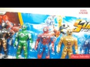 Samurai, Dino Super Charge, Spirit Rangers, Mighty Morphin Power Rangers Mega force Toys Me Video