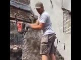 Прикол на стройке
