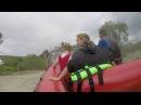 Майский рафтинг в Карпатах. Едем на лодке :)