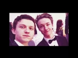 Tom Holland &amp Harrison Osterfield