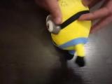 Комплект из 3-х Миньонов 18 см с присоской 3D глаза