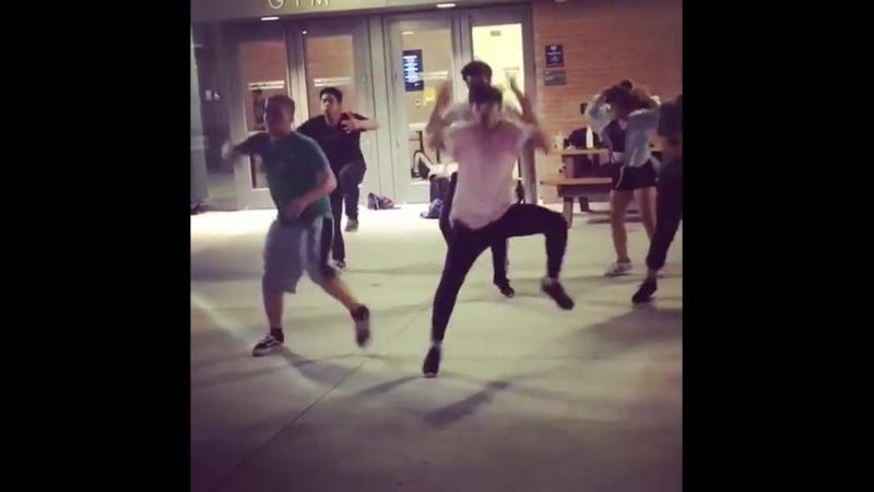 JYP Boys @ Yao Chen (John Aquino) dance practice (1)