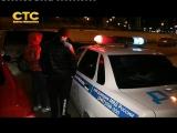 Пьяного водителя задержали сотрудники ГИБДД в Ханты-Мансийске