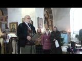 Бедрос Киркоров в храме с.Мокрый Корь