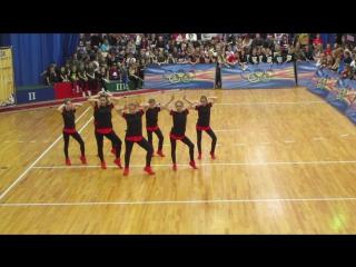 Click Play ((UNI-DANCE/Перчина Марина г. Пенза) 2 место  Чир хип - хоп Юниоры Small Crew группа 2017 г.
