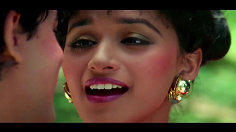 ♫Сердце / Dil - Mujhe Neend Na Aaye * Аамир Кхан и Мадхури Диксит (Retro Bollywood)