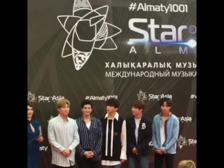 20.08.2017 FANCAM U-KISS Red Carpet @ «Star of Asia»