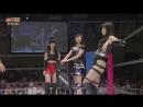 Hirose Natsuki Ma Chia Ling Miyazaki Miho vs Kato Rena Kizaki Yuria Nakai Rika Tofu Pro Wrestling WIP CLIMAX 2017