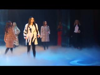 Міс Вінниця 2017 , первый выход (в шубах)