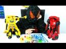 ТРАНСФОРМЕРЫ Автоботы ЩЕНЯЧИЙ ПАТРУЛЬ и Человек Паук Paw Patrol game Видео для детей