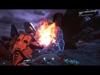 Mass Effect Andromeda - 16 минут геймплея 2017
