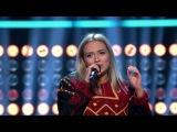Шоу «Голос» Норвегия  2107. - Ингеборг Вальтер с песней «Проблемы». —