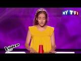Улыбнуло.- Шоу Голос Kids Франция 2107. - Бетиссам с песней Предпочла бы оказаться.