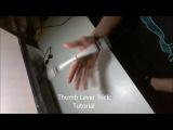 Thumb Lever Trick/PU FL TA Rev Tutorial - Pen Spinning