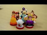 Распаковка новых amiibo из коллекции Super Mario